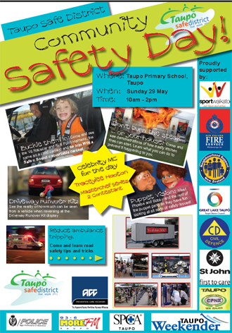 safety day poster